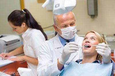 مراجعه به دندان پزشک در خانم های باردار