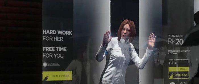 گرافیک افسانه ای در بازی Become Human