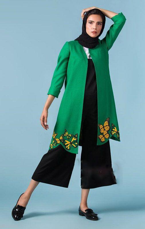 مانتو تک ناز مدل های مانتو ایرانی جدید و زیبا Anna Sani