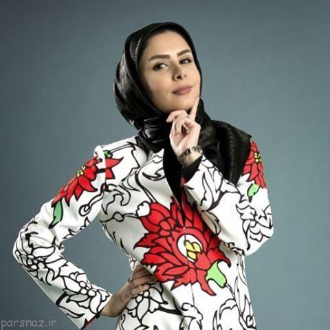 خانم مجری زیبا بعد از ازدواج از فضای مجازی رفت