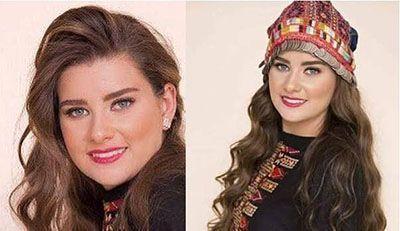 دختر شایسته و زیبای فلسطین 2017
