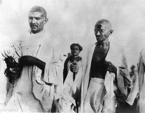 نگاهی به گاندی مرد انقلابی هندوستان