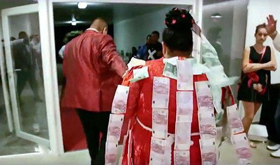 عروس 19 ساله چاق با لباس عروس 600 میلیونی
