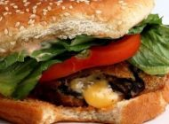 قارچ برگر با طعم و ظاهر عالی خوشمزه