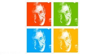 استیون هاوکینگ و سخنرانی برای مایکروسافت