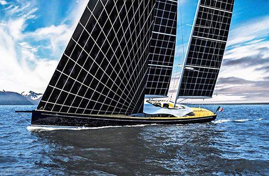 بهترین کشتی های خورشیدی در دنیا +عکس