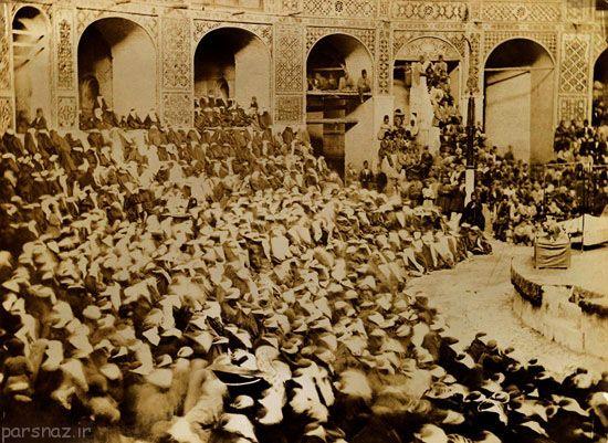 عکس های ماه محرم و عزاداری حسینی در دوران قاجار