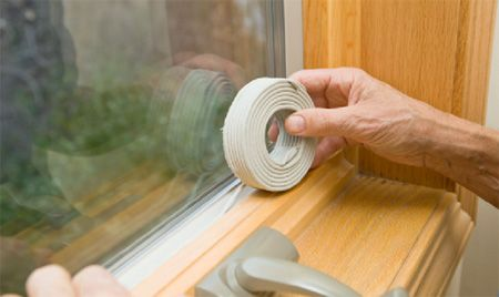 عایق کردن پنجره ها در فصل پاییز و زمستان