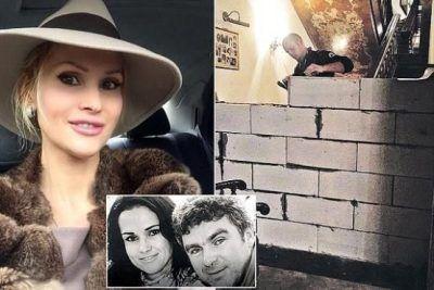 زن و شوهر بعد از طلاق خانه را نصف کردند