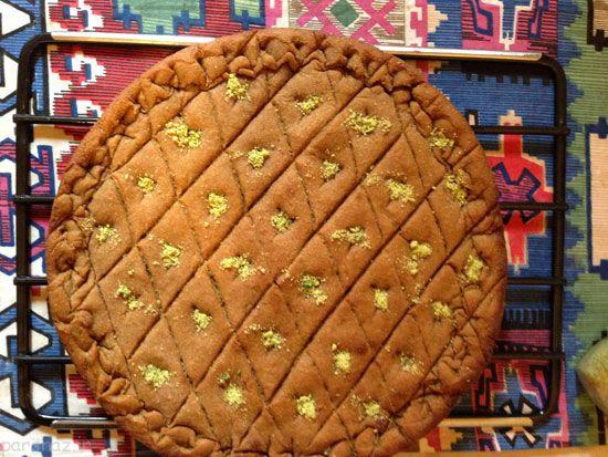 کماج سهن نان محلی کرمانی خوشمزه