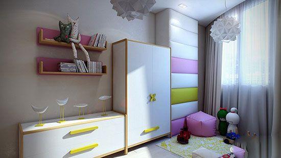 طراحی زیبا و مدرن برای اتاق کودکان