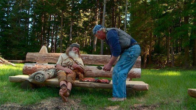 زندگی جالب پیرمرد جنگلی را ببینید