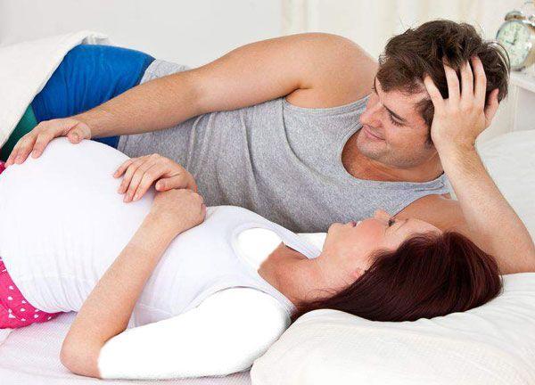 رابطه جنسی در دوران حاملگی همسر