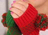 مدل های شیک دستکش بافتنی زنانه