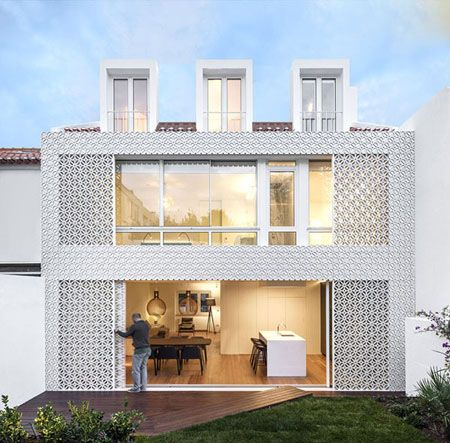 طراحی نمای بیرونی خاص و فوق العاده