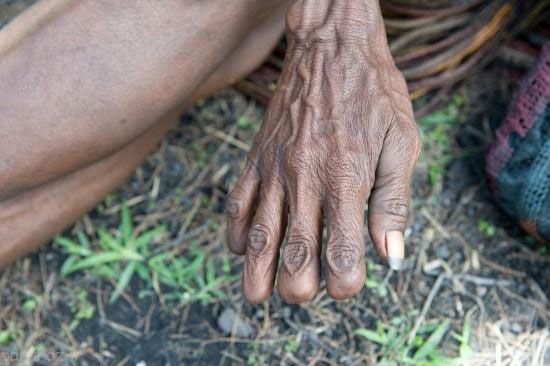 قطع انگشت در آداب و رسوم های مختلف