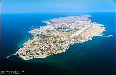 خلیج فارس و جزایر متعلق به کشور ایران