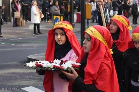 ماه محرم و عزاداری عاشورای حسینی در لندن