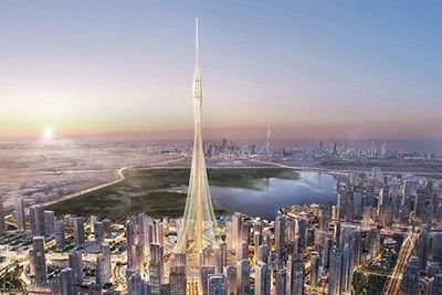 شروع ساخت بلندترین آسمان خراش دنیا