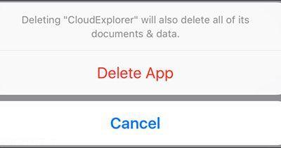 ترفند حذف اپلیکیشن های مخفی در آیفون
