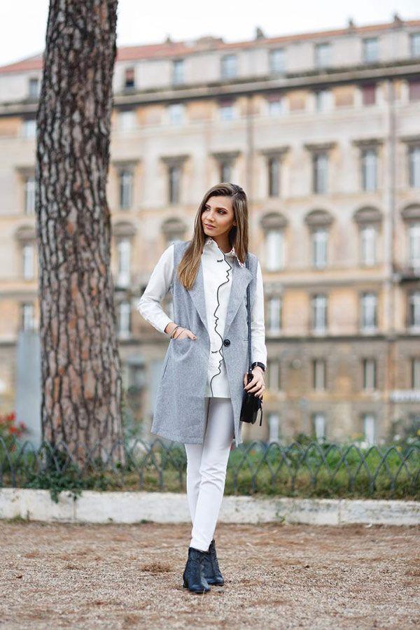 لباس های خاکستری را برای پاییز ست کنید