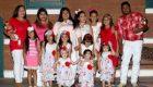 این خانم به طور متوالی 14 دختر بدنیا آورده است