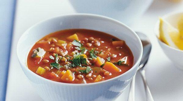 طرز تهیه سوپ عدس مقوی و خوشمزه