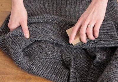 پرزهای لباس را این گونه از بین ببرید