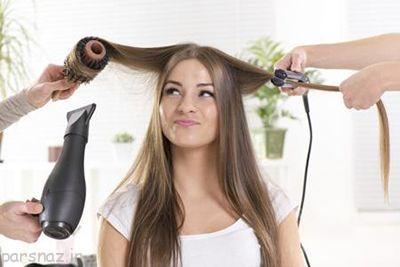 مراقبت از مو پس از هایلایت کردن
