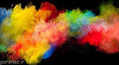 در تبلیغات نقش اصلی را رنگ ها بازی می کنند