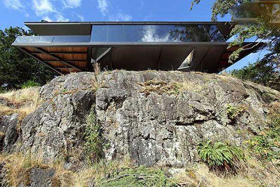 ویلاهای صخره ای آرامش و هیجان با هم