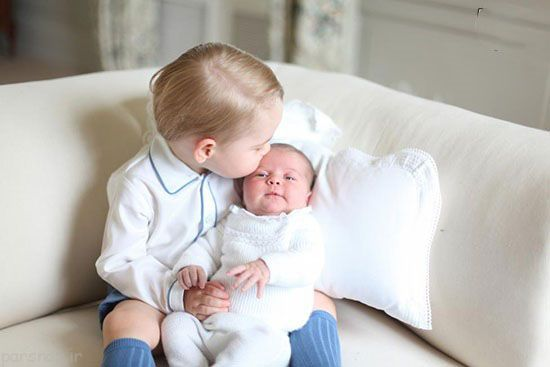تصاویر دیدنی خانواده سلطنتی بریتانیا