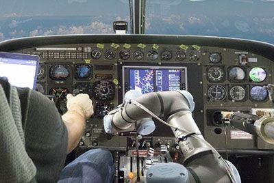 ربات خلبان دارای هوش مصنوعی