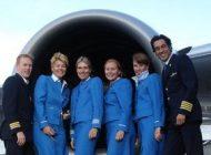 رابطه جنسی زن مهماندار و خلبان در هواپیما