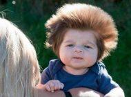 موهای جالب کودک بامزه سوژه این روزها