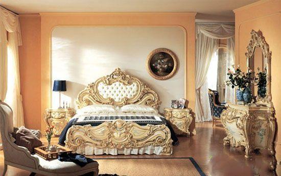 مدل تخت خواب سلطنتی گران قیمت زیبا