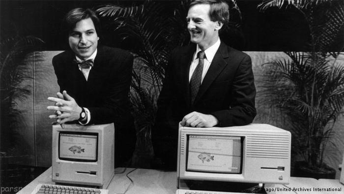 استیو جابز نابغه دنیای تکنولوژی در عصر کنونی