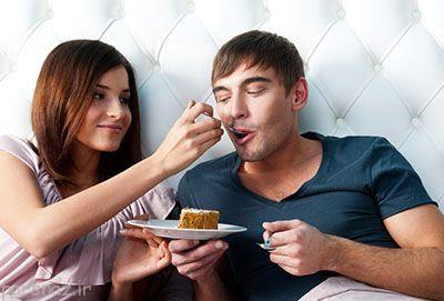 افزایش وزن در زوج هایی که شاد هستند