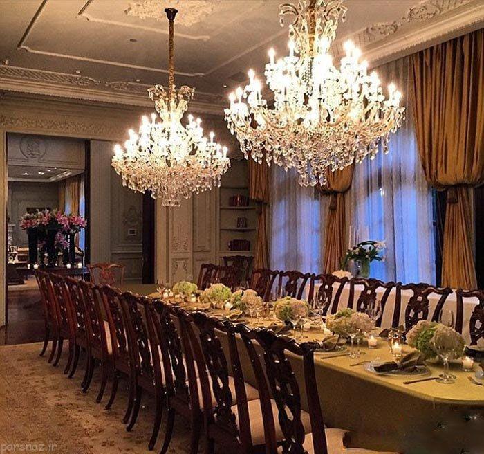 قصر زیبای ثروتمند عرب و نامزد ایرانیش +عکس