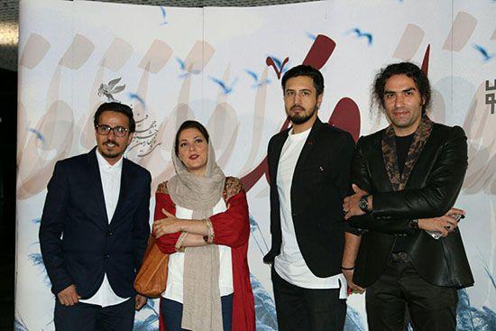 اکران خصوصی فیلم اروند با حضور بازیگران