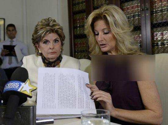یکی از زنان مورد تعرض جنسی ترامپ مقابل دوربین