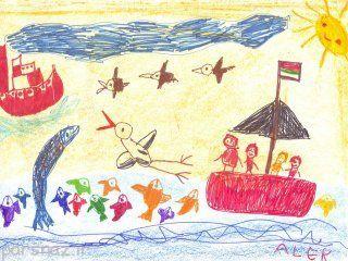 روانشناسی جالب نقاشی های کودکان
