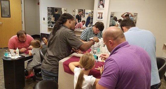 کلاس فوق العاده لاک زنی برای پدرهای مهربان