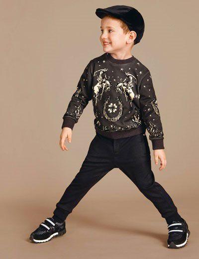 مدل های لباس بچگانه دولچه گابانا پاییز