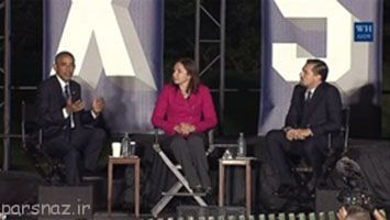 دی کاپریو در یک مناظره اوباما را به چالش کشاند