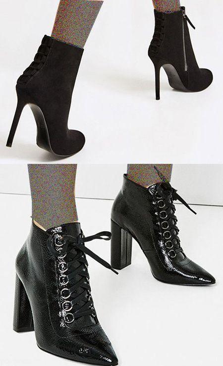 مدل کفش های زارا پاییزی برای خانم ها