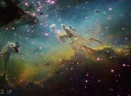 ناسا تصاویر فضایی را رنگ آمیزی می کند