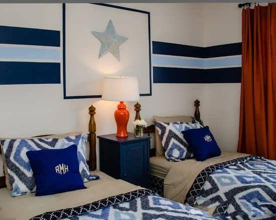 طرح دکوراسیون اتاق خواب به سبک پسرانه