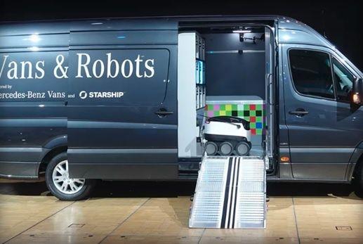 ربات های پیک وارد میدان شدند