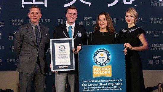 جالب ترین رکوردهای دیدنی و شگفت انگیز گینس (19)